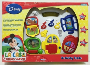 LA CASA DE MICKEY MOUSE ACTIVITY TABLE COD 1638