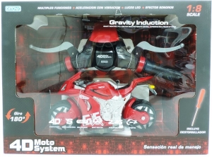 MOTO SYSTEM GRAVITY A R/C SIMULACION REAL DITOYS COD 2046