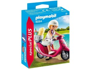 PLAYMOBIL SPECIAL PLUS MUJER CON SCOOTER COD 9084